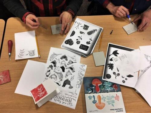 Printmaking for Adults