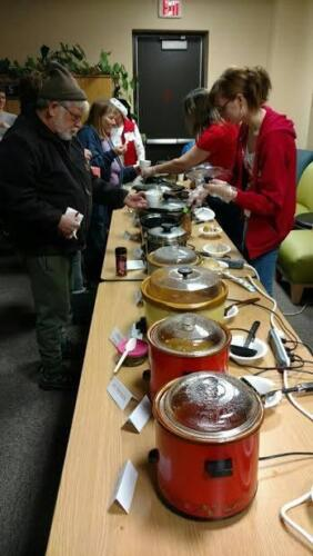 Annual Friends of the Library Chili Feed