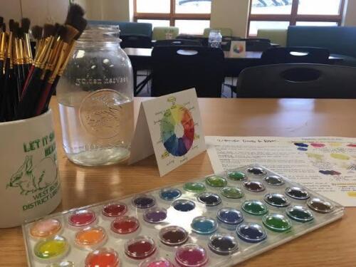 Watercoloring Class