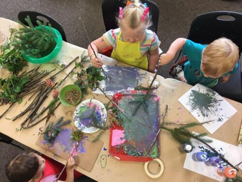 Kids Nature Art Program
