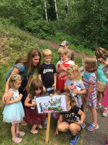 Story Walk on the Apple Blossom Trail