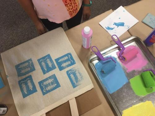 Printmaking for Tweens