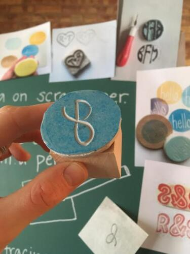 Make your Own Rubber Stamp Class