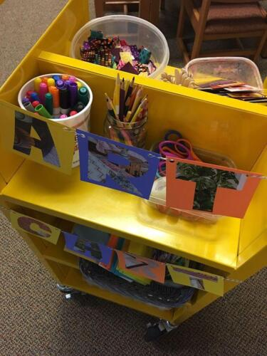 Summer Art Cart - every Friday!