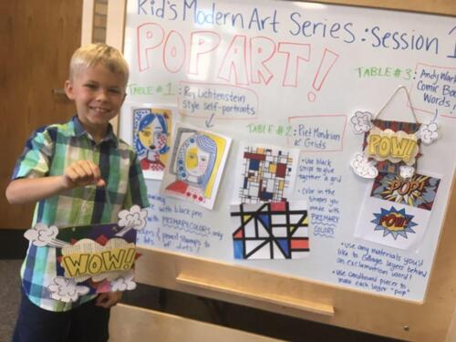 Kids Modern Art Program