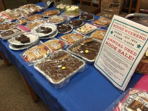 Friends of the Library Bake Sale