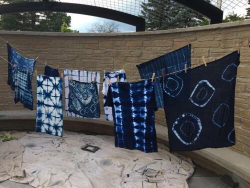Shibori Indigo Dyeing Class