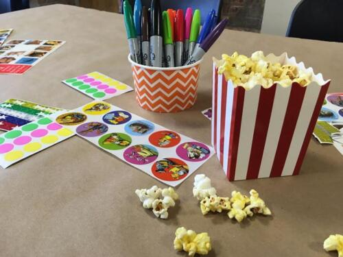 Popcorn Party for Kids